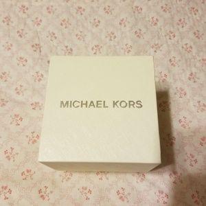 NEW Michael Kors Watch Box & Manual